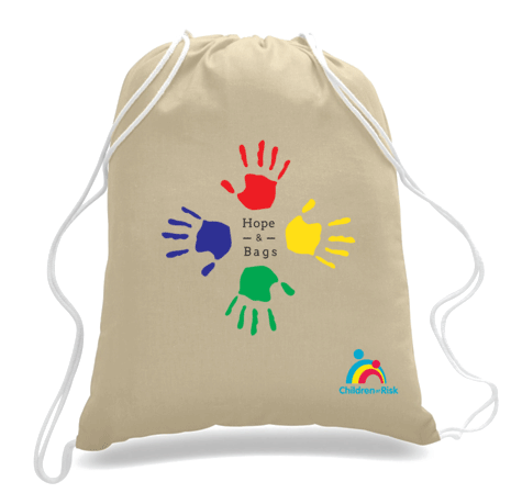 Hope Drawstring Bag